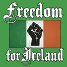 Freedom for Ireland (Vintage Distressed) by robotface