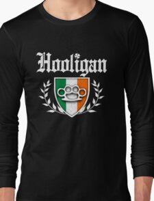 Irish Hooligan Knuckle Crest (Vintage Distressed) Long Sleeve T-Shirt