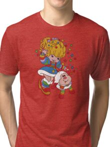Rainbow Brite- Nostalgia Tri-blend T-Shirt