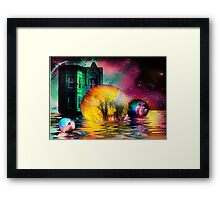 Escaping Illusions of Continuity Framed Print