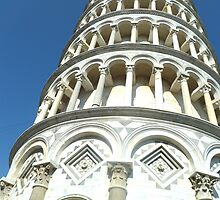 Leaning Tower of Pisa by molleya