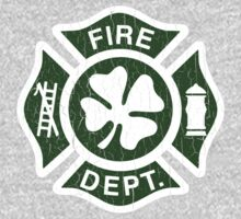 Irish Fire Department (Vintage Distressed) One Piece - Long Sleeve