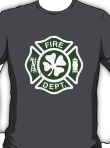Irish Fire Department (Vintage Distressed) T-Shirt