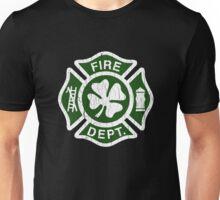 Irish Fire Department (Vintage Distressed) Unisex T-Shirt