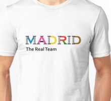 Madrid, the real team Unisex T-Shirt