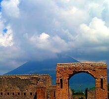 Mount Vesuvius and Pompeii by molleya