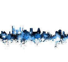 Baltimore Maryland Skyline Photographic Print