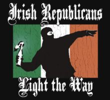 Irish Republicans Light the Way (Vintage Distressed) by robotface