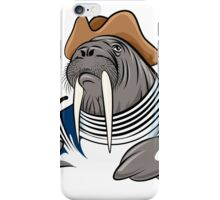 Smoking Walrus iPhone Case/Skin