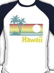 Vintage 80s Hawaii (Distressed Design) T-Shirt