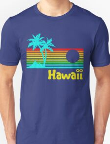 Vintage 80s Hawaii (Distressed Design) T-Shirt