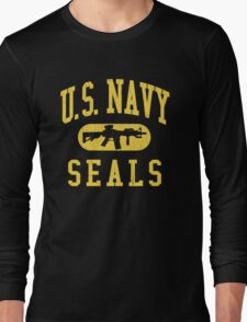 US Navy SEALS (Vintage Distressed Design) Long Sleeve T-Shirt