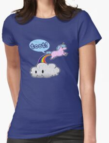 Toot! Cute Unicorn Fart (Vintage Distressed Design) T-Shirt