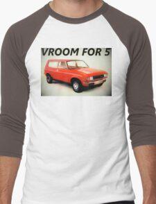 """Austin Allegro - """"Vroom for 5"""" Men's Baseball ¾ T-Shirt"""