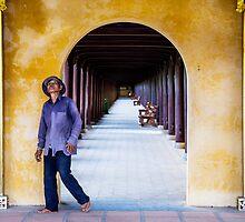 Prospector Perspective: Worker in Hue, Vietnam by thewaxmuseum