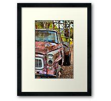 Vintage Truck 3 Framed Print
