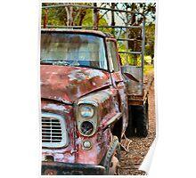 Vintage Truck 3 Poster