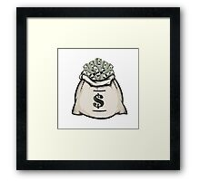 Money Bag Framed Print