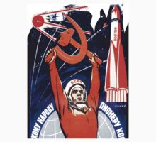 Soviet Space Program Shirt by Shaina Karasik