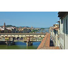 Ponte Vecchio Bridge, Florence Photographic Print