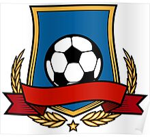 Football Club Emblem Poster