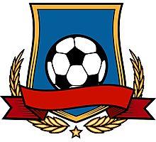 Football Club Emblem Photographic Print
