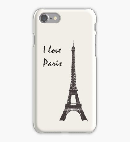 The Tower of Eiffel iPhone Case/Skin