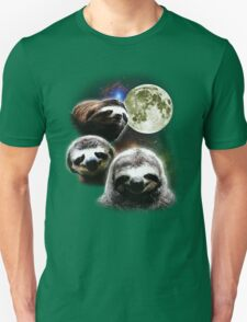Funny Space Sloths  Unisex T-Shirt