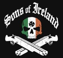 Sons of Ireland (Vintage Distressed Design) by robotface