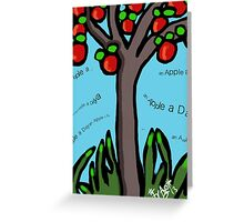 An Apple a Day ........... Greeting Card