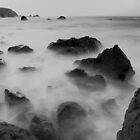 Waves on the Rocks III. by Rafal Antoniuk