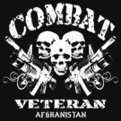 Combat Veteran Afghanistan (Vintage Distressed) by robotface