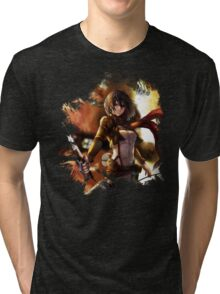 Attack On Titan Mikasa Tri-blend T-Shirt