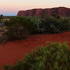 Uluru #55 cropped by gaylene