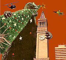 Grrrreeettiiings! it's a Monstrous Christmas by WendyandMarg