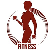 Fitness Logo by devaleta