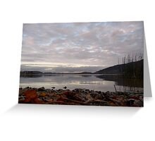Tegernsee Mirror Greeting Card
