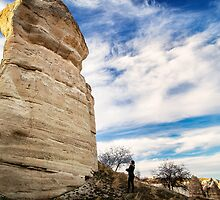 Forgotten Face: Hiking in Cappadocia, Turkey by thewaxmuseum