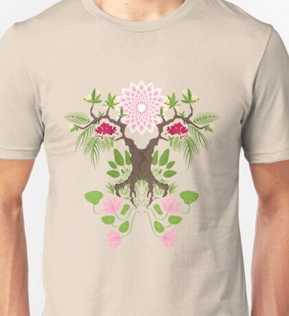 Jungle spirit face Unisex T-Shirt