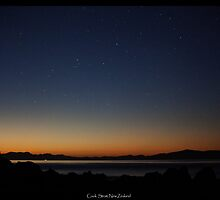 Serenity over Cook Strait by TerryGphoto