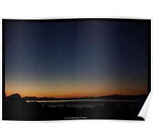 Serenity over Cook Strait Poster