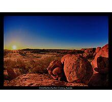 Devils Marbles, NT, Australia Photographic Print