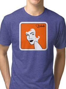 Belinda Carlisle (Redhead) Tri-blend T-Shirt