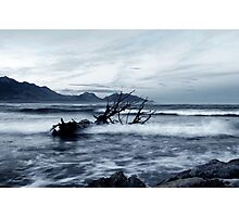Washed away down the rivers by the storm Photographic Print