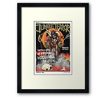 Jungle Terror Framed Print
