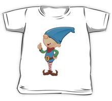 Elf Character - Giving Thumbs Up Kids Tee
