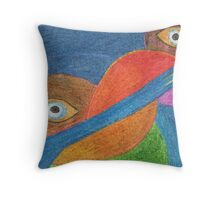Artistic Eyes  Throw Pillow