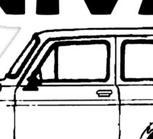 Lada Niva - 'Niva' Sticker