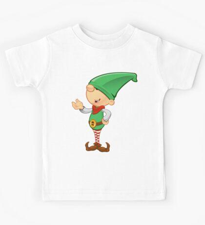 Elf Character - Presenting Kids Tee