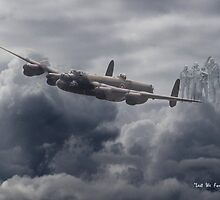 Avro Lancaster - Bomber Command Remembrance by Pat Speirs